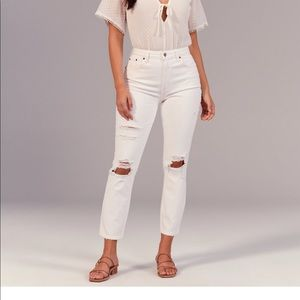 High rise curve love mom jeans